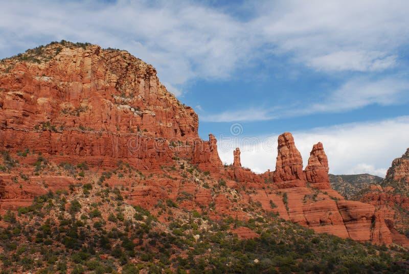 Sedona, Arizona Rock Formation stock image