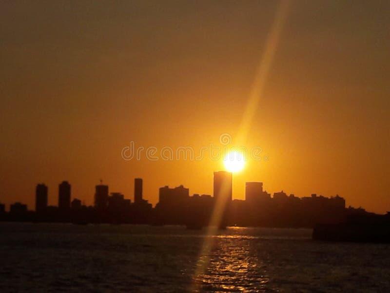 Evening sunset stock photos