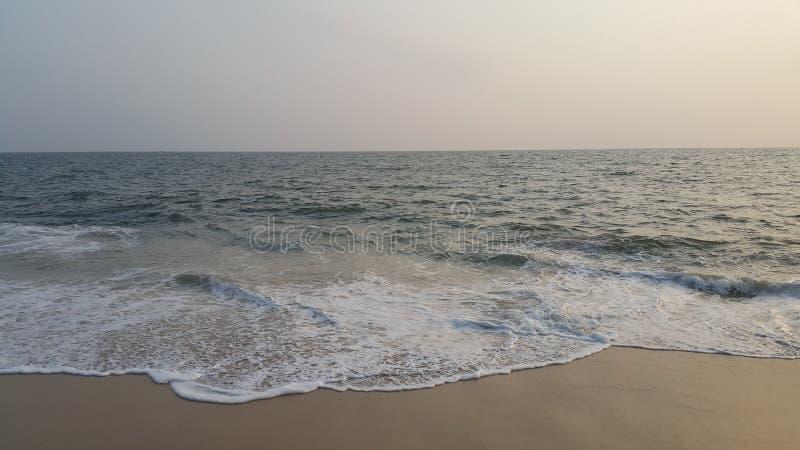 Evening time in beach - Alappuzha Kerala. Evening time in Kerala Alappuzha beach. Its time for Sunset stock images