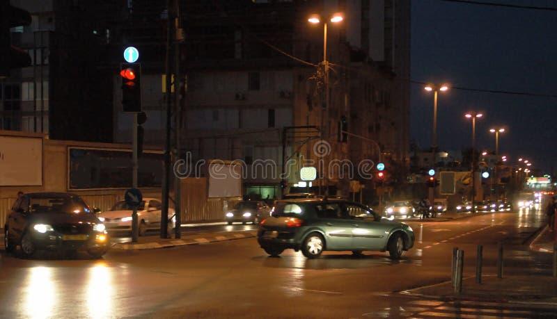 Evening Traffic Στοκ Εικόνες
