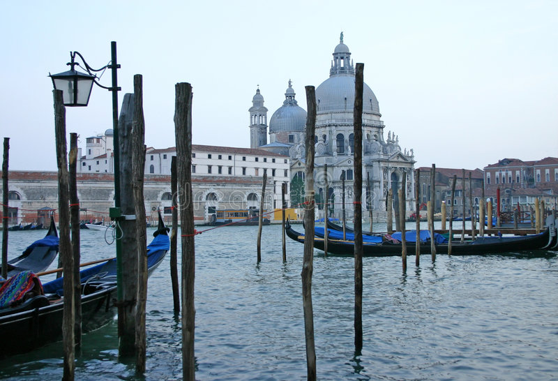 Evening in Venice royalty free stock photos