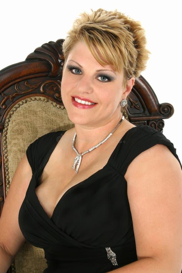 evening wear woman στοκ φωτογραφία με δικαίωμα ελεύθερης χρήσης