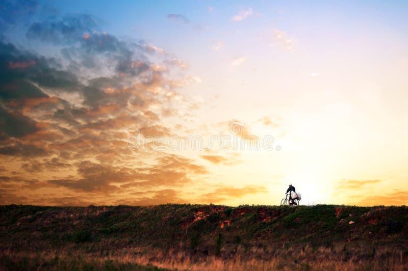 Download Evening wilderness stock image. Image of natural, sunrise - 25415747