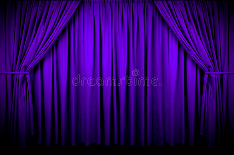 Download Event Curtain stock photo. Image of curtain, purple, drapes - 3799106