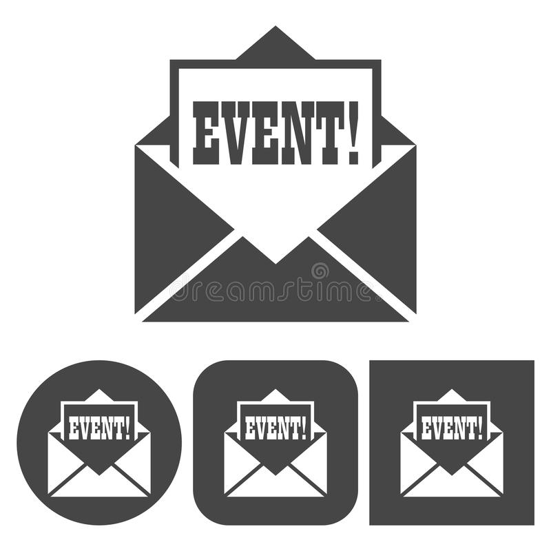 Event icon - icons set vector illustration