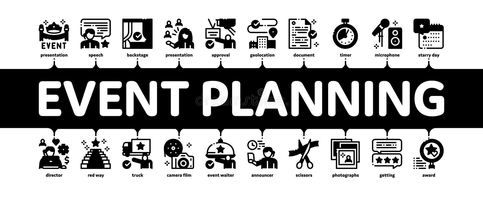 Calendar Or Schedule Icon Symbol Of Planning Events And ... |Event Planner Symbol