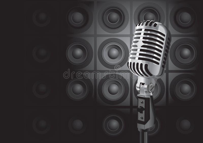 Evento da música (vetor) ilustração stock
