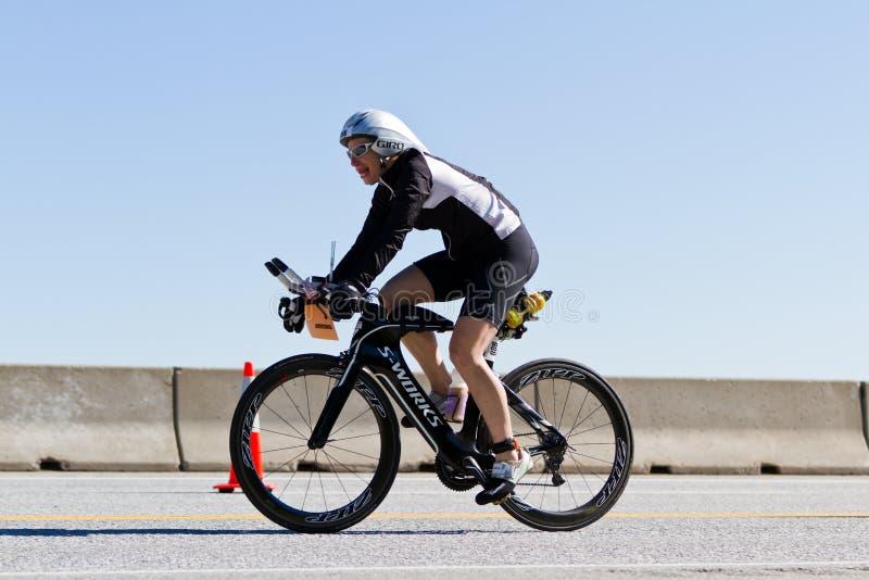 Evento de ciclo de Alene Ironman del d de Coeur fotografía de archivo libre de regalías