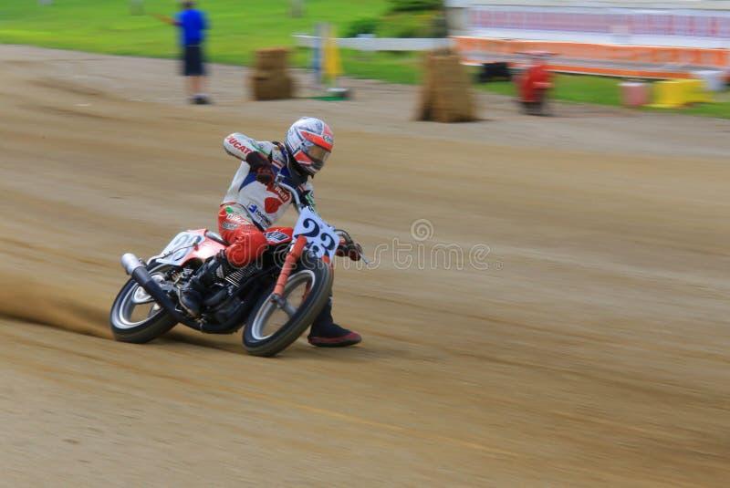 Evento de competência de Dirtbike fotografia de stock
