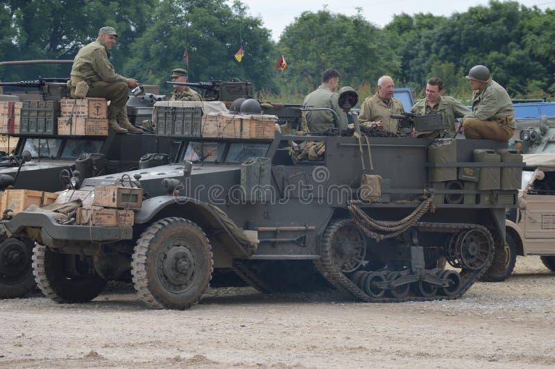 Evento 2016 di Bovington TankFest immagine stock