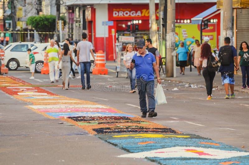 Download Evento Di Festa Del Corpus Christi Nel Ms Grande Del Campo Immagine Editoriale - Immagine di colori, editoriale: 117980130