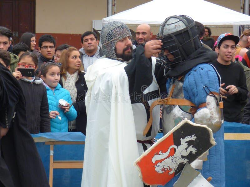 Evento medieval foto de stock
