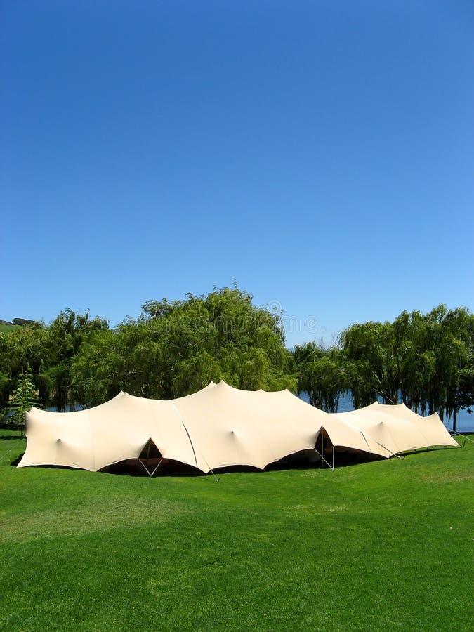 Evento in una tenda immagini stock libere da diritti