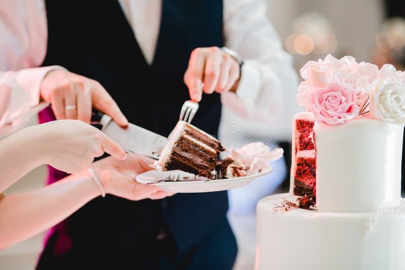 Eventos de la comida fría de la boda del abastecimiento foto de archivo