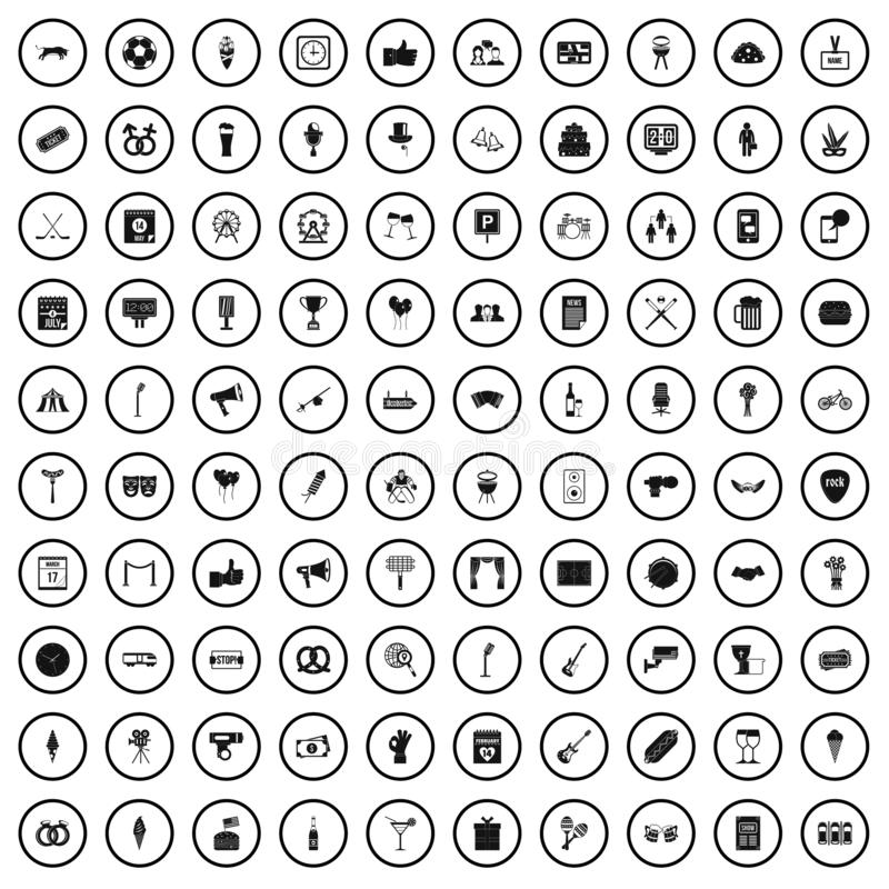 Events Icons Stock Illustrations – 2,021 Events Icons Stock