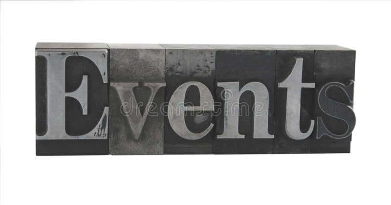 Download 'events' in old metal type stock photo. Image of rare - 2938176