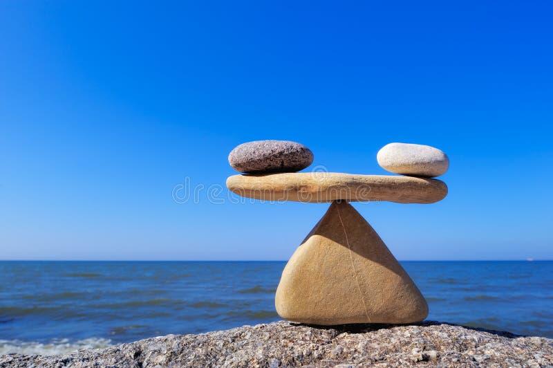 Evenwicht royalty-vrije stock foto