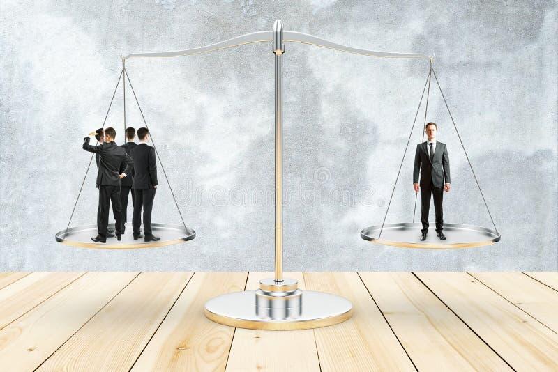 In evenwicht brengend concept royalty-vrije stock afbeeldingen