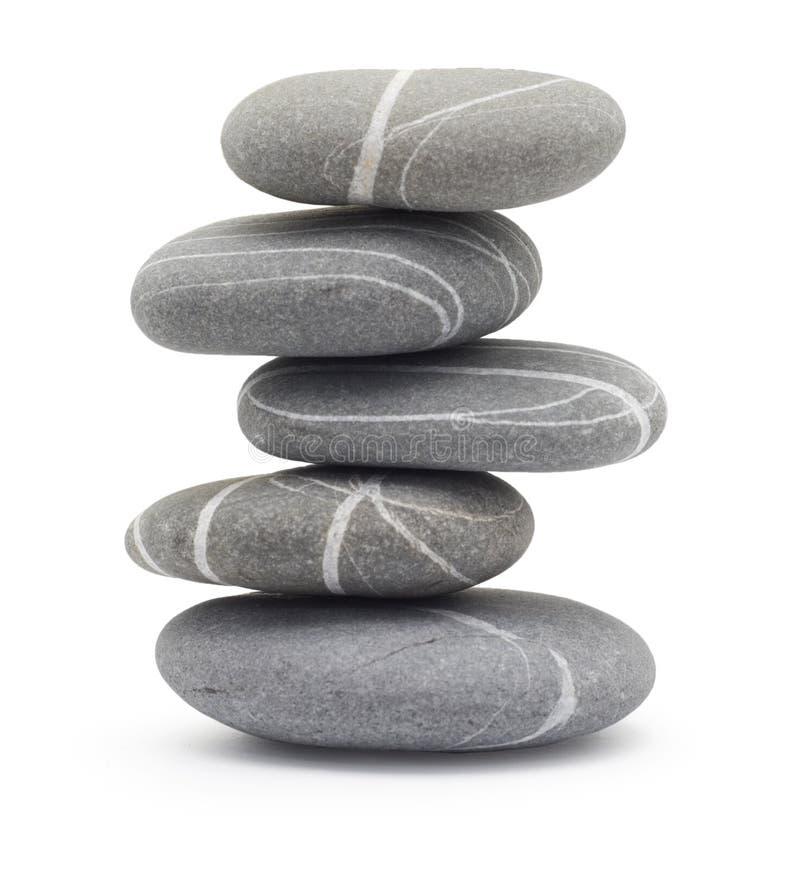 In evenwicht brengende stenen royalty-vrije stock foto's
