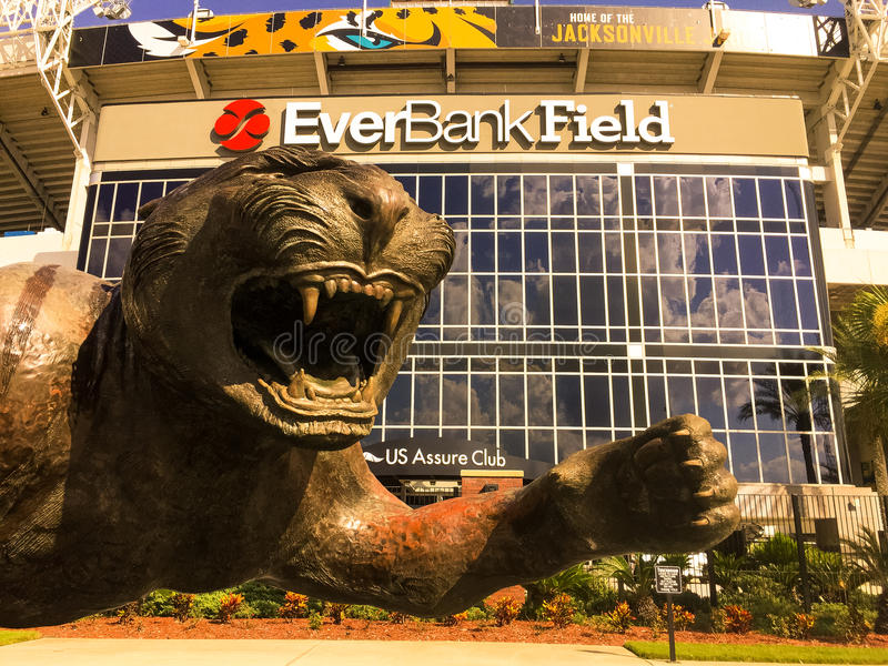 EverBank Field stock images