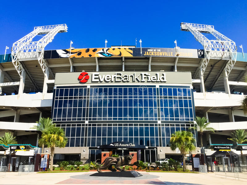 EverBank Field royalty free stock photo