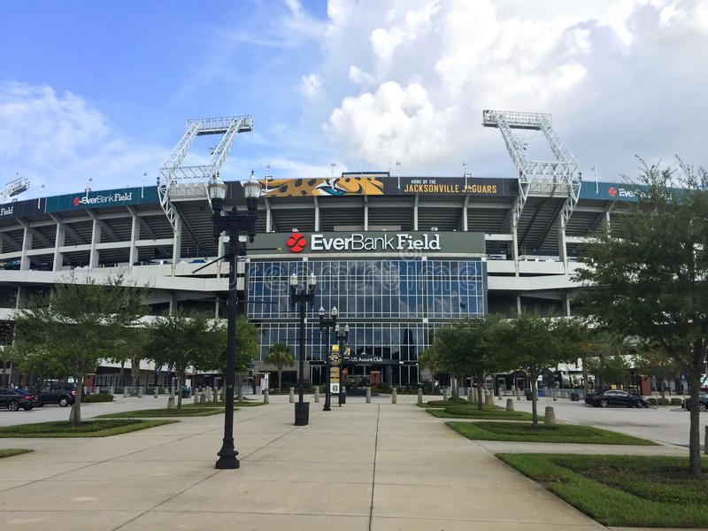 EverBank Field royalty free stock image