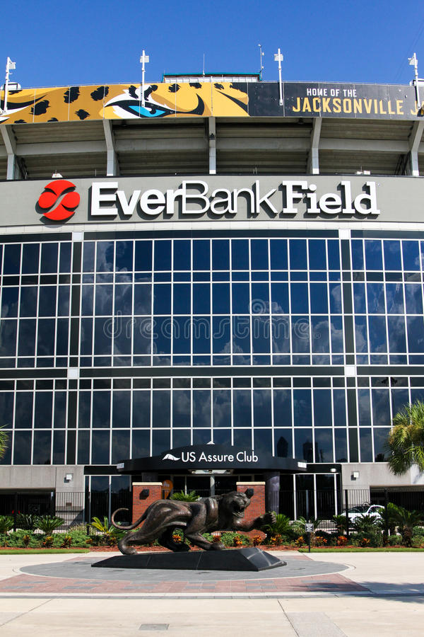 EverBank Field stock photography