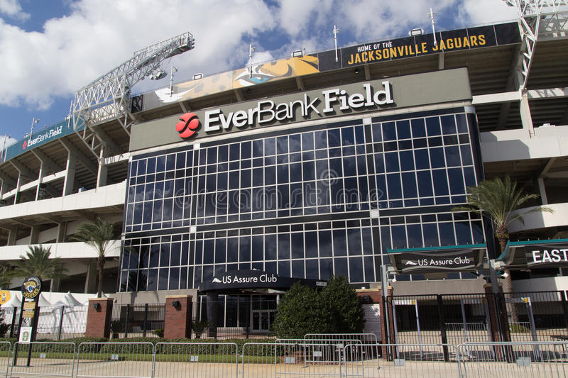 Everbank Field Stadium stock images