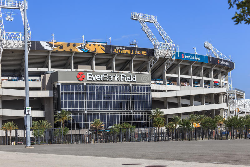 EverBank Field Stadium royalty free stock photography