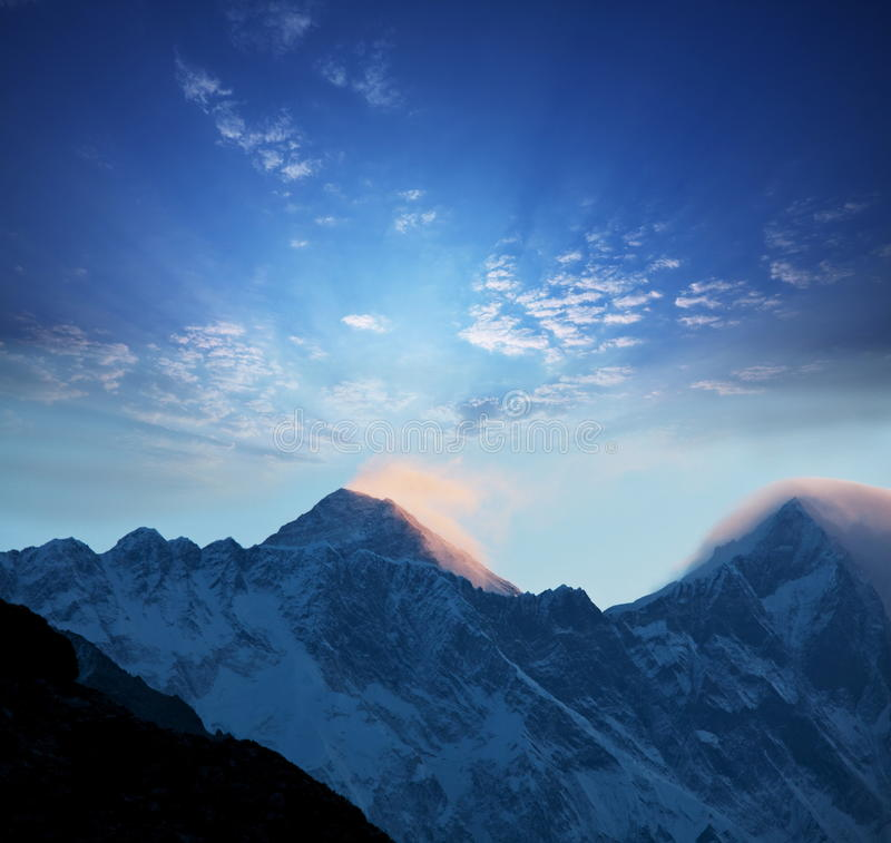 Everest lizenzfreies stockbild