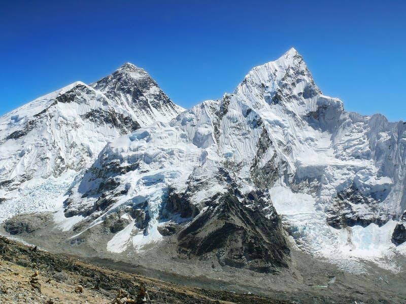 Everest royalty free stock photo