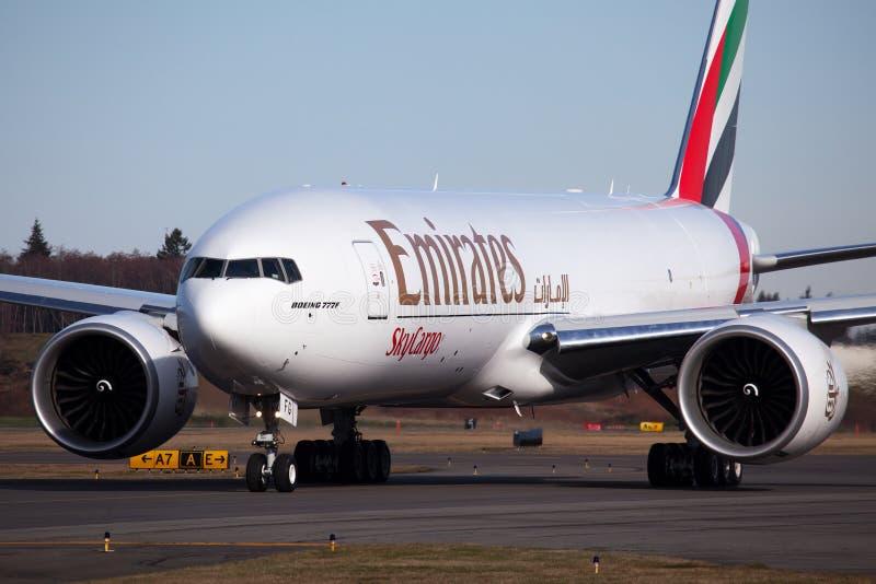Emirates Boeing 777F Cargo Editorial Stock Image