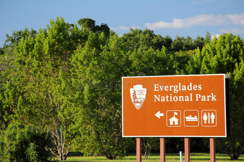 Everglades National Park. Gulf Coast Entrance to Everglades National Park, South Florida royalty free stock image