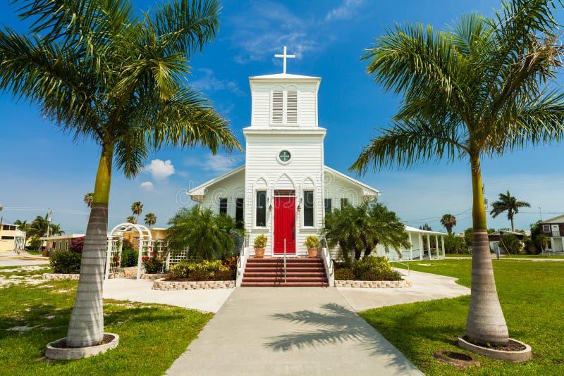 Evergladeskerk royalty-vrije stock afbeelding