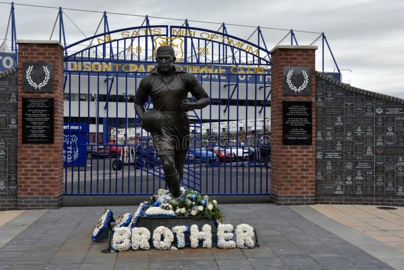 Everton futbolu klubu stadium obrazy stock