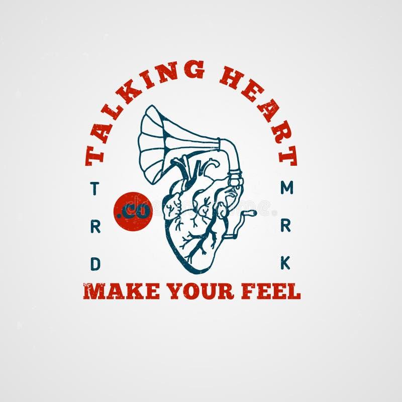 Talking heart. Every beat of heart is like music