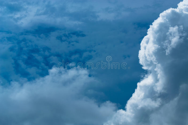 Every day looking at the sky is never a duplication of every str. Oke of shape royalty free stock image