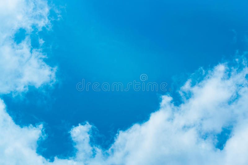 Every day looking at the sky is never a duplication of every str. Oke of shape royalty free stock photo