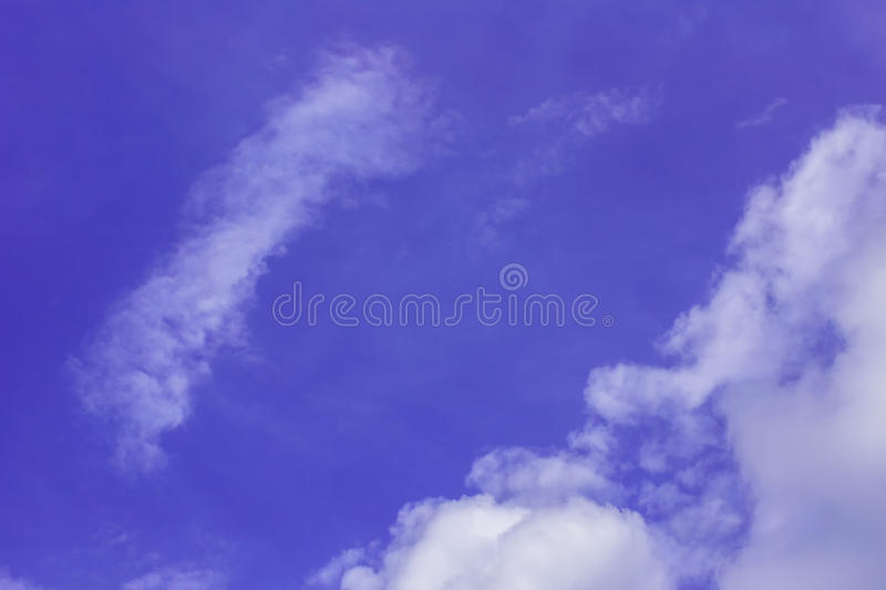 Every day looking at the sky is never a duplication of every stroke of shape. royalty free stock photo
