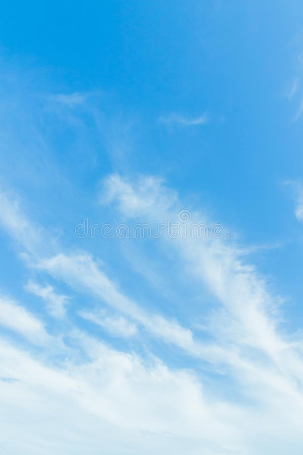Every day looking at the sky is never a duplication of every stroke of shape. stock photo