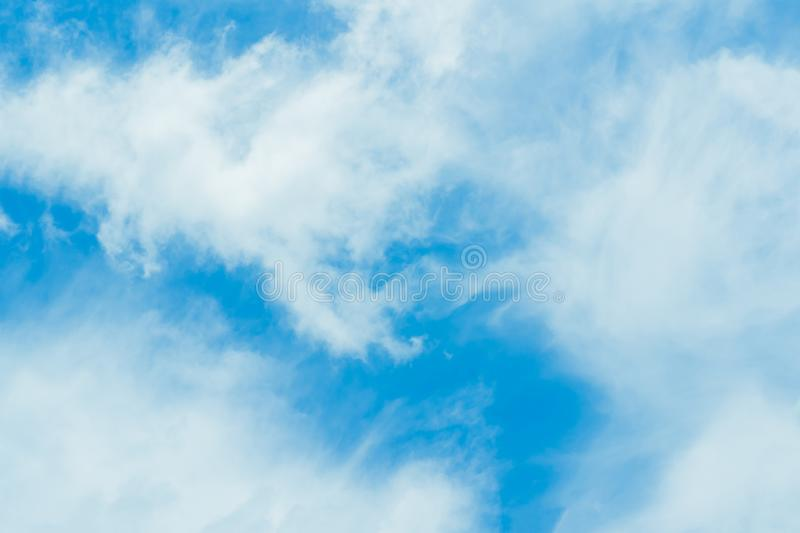 Every day looking at the sky is never a duplication of every stroke of shape. stock images