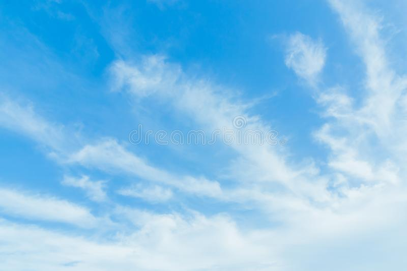 Every day looking at the sky is never a duplication of every stroke of shape. royalty free stock photos