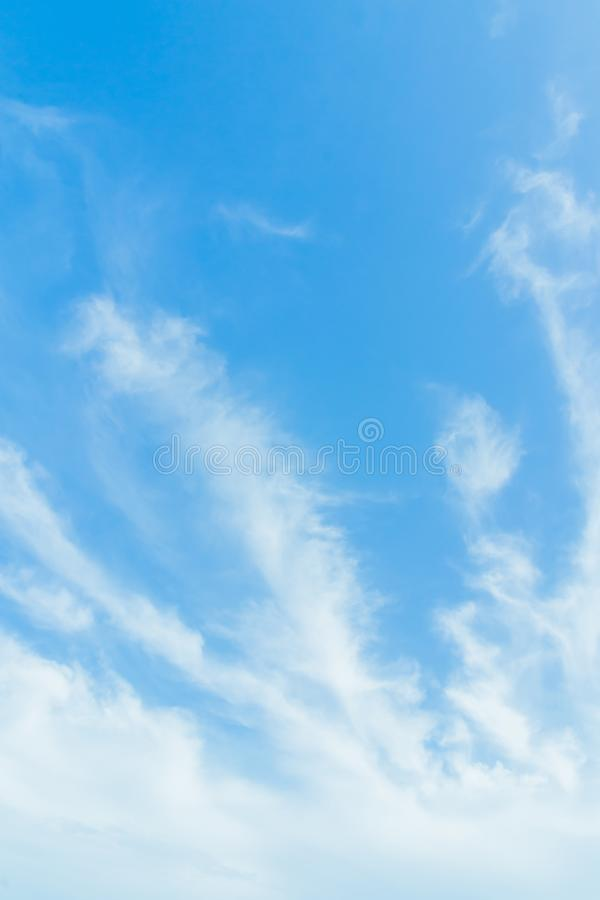 Every day looking at the sky is never a duplication of every stroke of shape. royalty free stock image