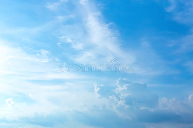 Every day looking at the sky is never a duplication of every st. Roke of shape royalty free stock photo