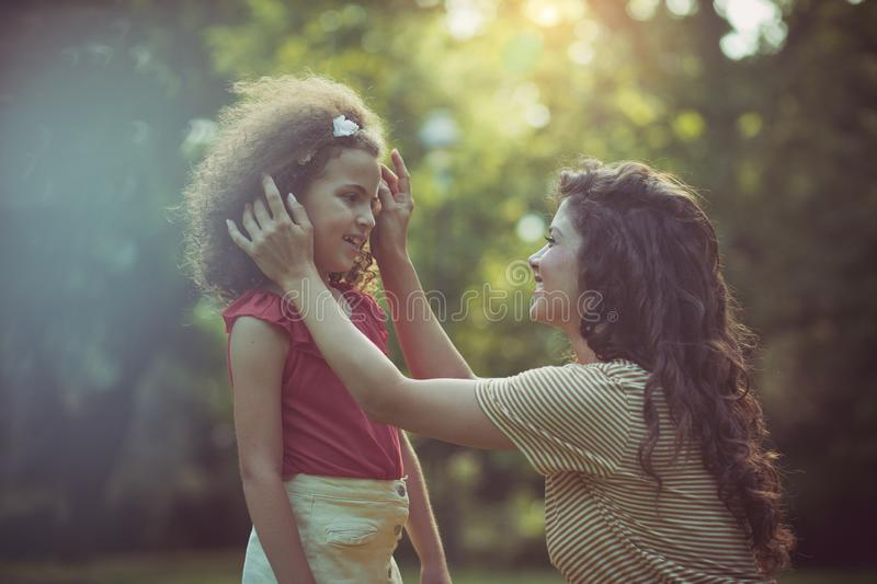 Every mother, her child is the most beautiful royalty free stock photography