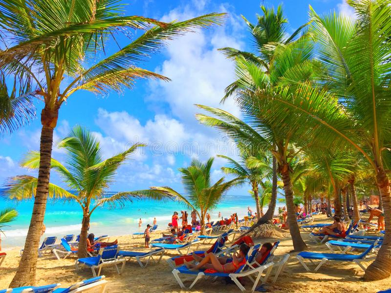 Everybody knows paradise royalty free stock photos