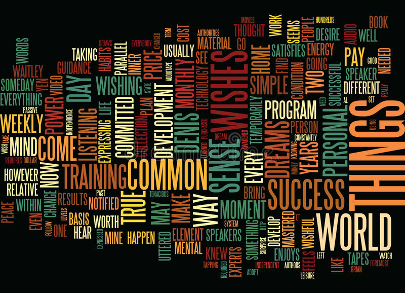 Everybody Wishes But Few Do Text Background Word Cloud Concept vector illustration