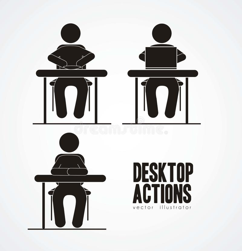 Download Everyday activities stock vector. Illustration of rest - 26565498