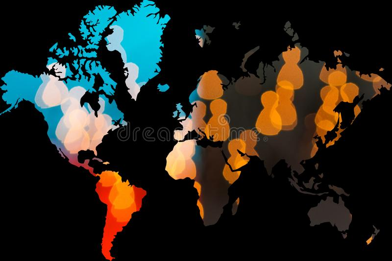 Everyone globalnie łączy royalty ilustracja