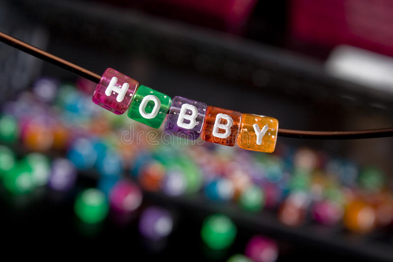 Download Everyone needs a Hobby stock photo. Image of alphabet - 12590656